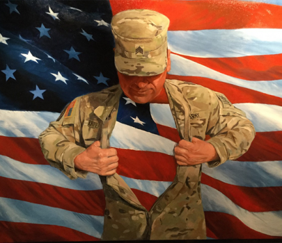 Art therapy to help veterans heal