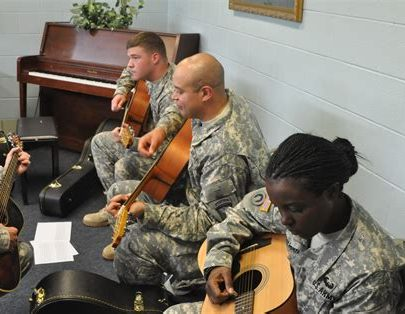 Music Therapy Helping Marines